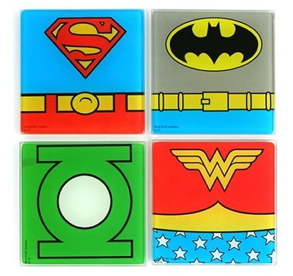 Super porta-copos de Super-Heróis!