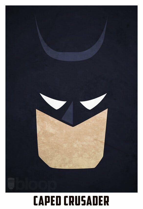 289100b8d471a Um cara conhecido como BloOp criou algumas ilustrações de super-heróis que,  apesar de muito simples, são bem legais. Veja todas elas a seguir.