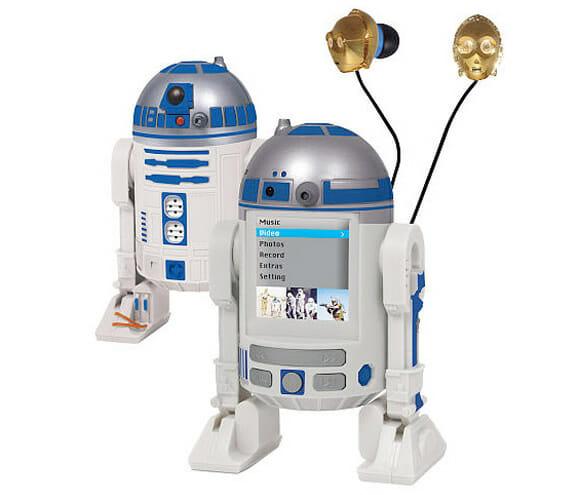 Diretamente de uma galáxia muito distante: MP4 Player do R2-D2!