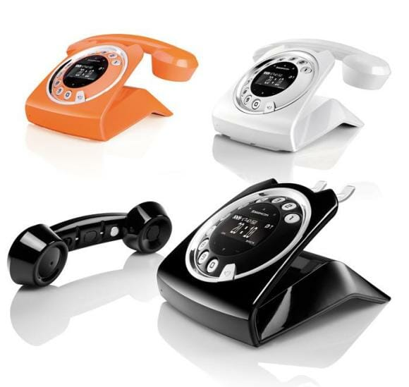 Aparelho telefônico Sixty tem aspecto vintage, mas esbanja elegância e recursos
