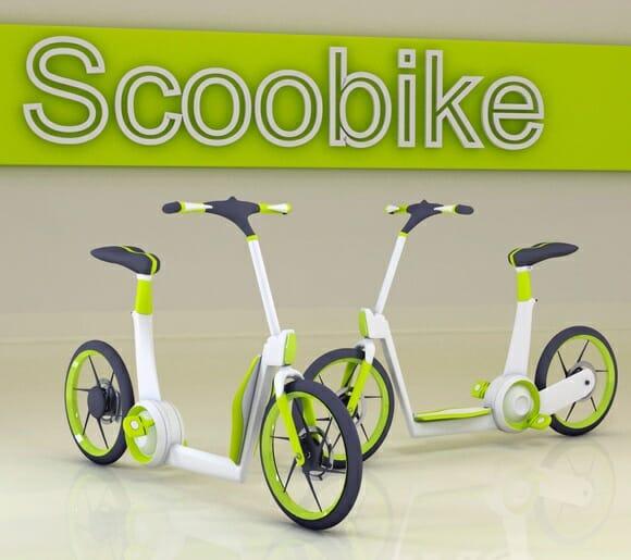 Scoobike - Fruto da união entre Moto e Bicicleta