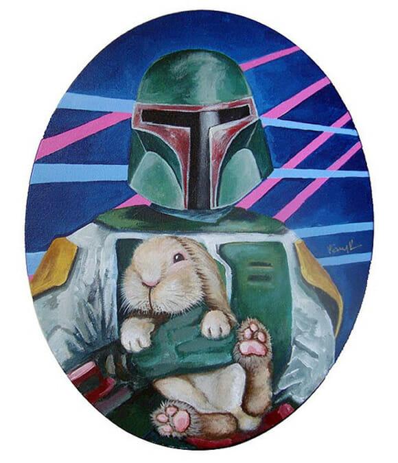 Star Wars e coelhos?