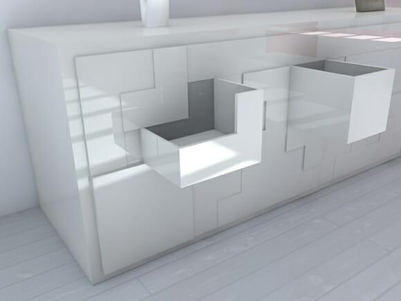 T@tris - Um móvel bonito e funcional inspirado no jogo Tetris.