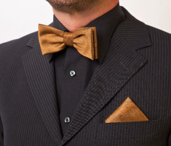 Pesquisadores criam seda feita de ouro que pode ser vestida e lavada como outra qualquer.