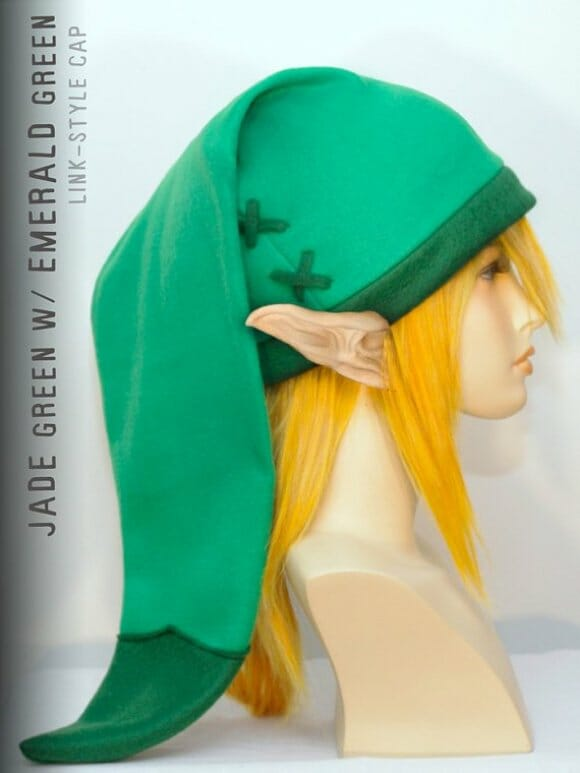 Touca do personagem Link do game 'The Legend of Zelda'