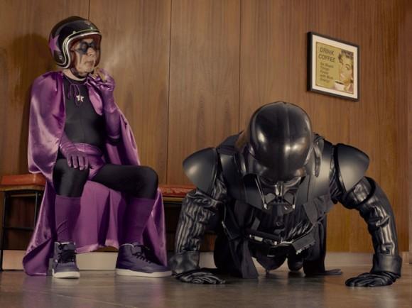 Darth Vader faz amizade com um herói da terceira idade
