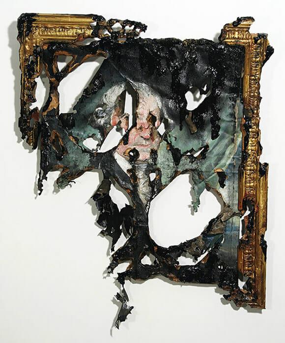 A arte destruída de Valerie Hegarty