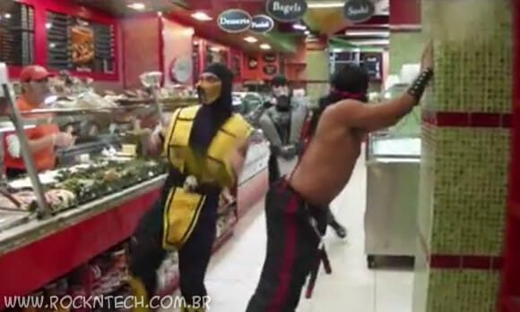 VIDEOFUN - Mortal Kombat flash dancing