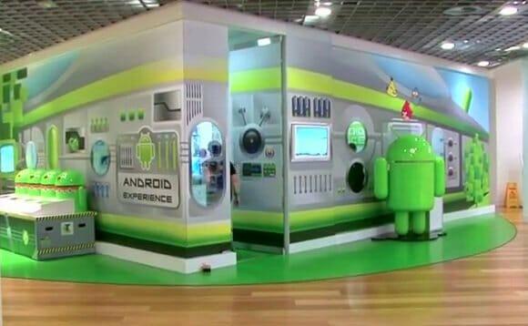 Androidland: A primeira loja totalmente inspirada em Android do mundo (vídeo)