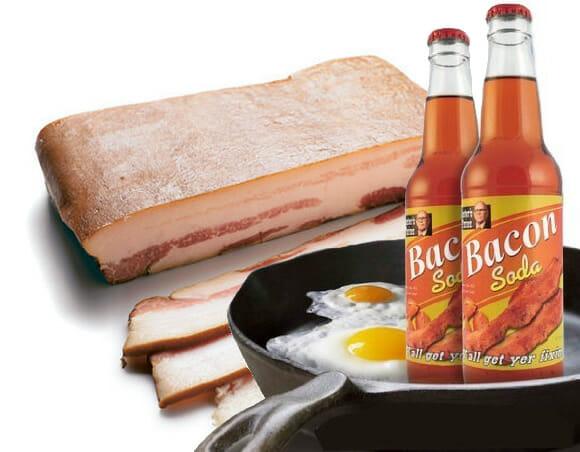Refrigerante de Bacon: O máximo de calorias para começar bem o dia!