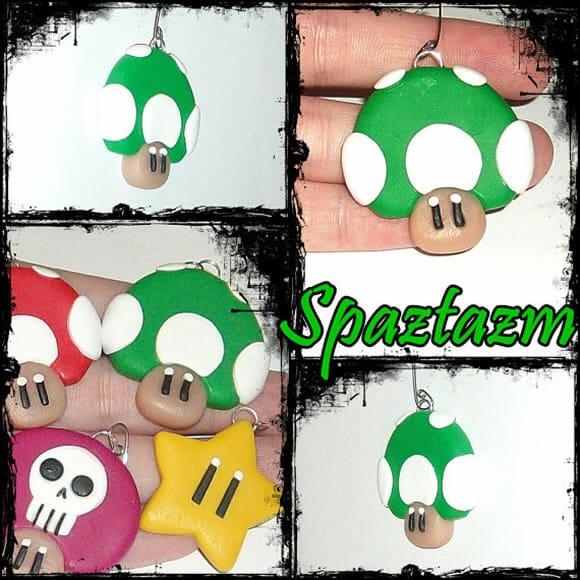 Bijuterias e acessórios do Super Mario! #TODOSQUER