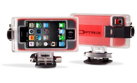 Com o case Optrix para iPhones você filma suas aventuras de moto em HD! (vídeo)