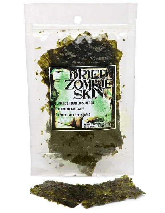 Pele de Zumbi comestível: Existe mesmo e aparentemente é deliciosa!