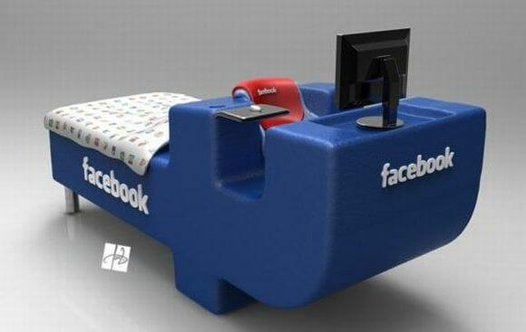 Cama Facebook: Eu curti, e você?