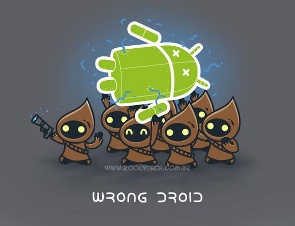 FOTOFUN - Ooops! Droid errado!