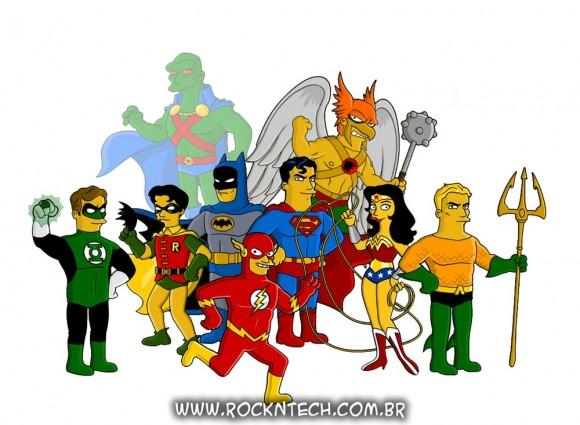 FOTOFUN - Super-Heróis Simpsonizados