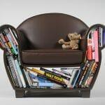 Hollow Chair - Uma poltrona criativa que pode ser útil também como prateleira