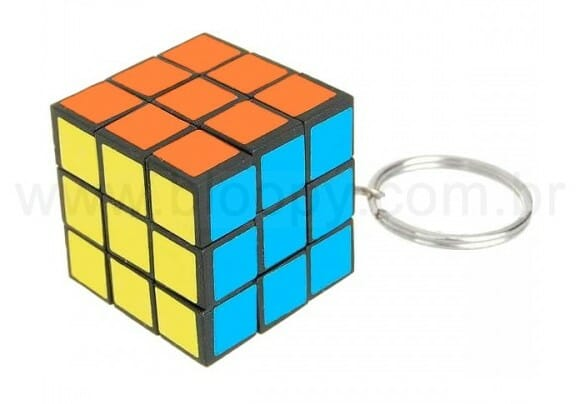 Natal Geek - Dica de presente: Chaveiro Cubo Mágico que funciona de verdade!
