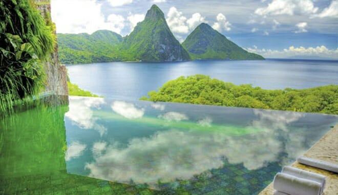 Jade Mountain, EUA - Piscina 1