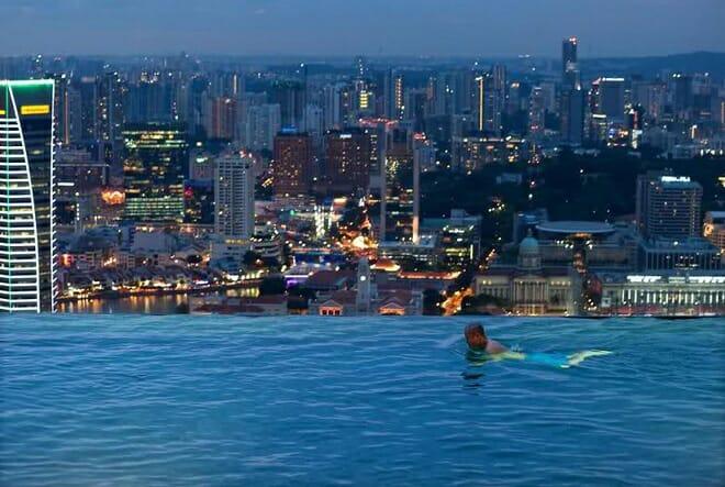 Marina Bay Sands Hotel e Casino, Singapura