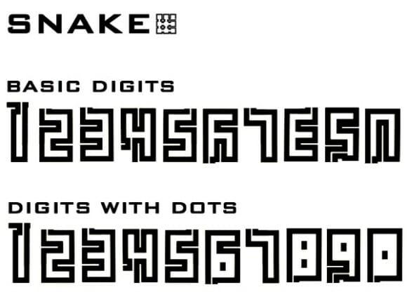 """Relógio de pulso baseado no game """"Snake"""" mostra as horas no estilo do game"""