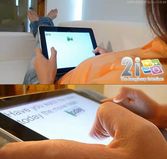 Cansado do QWERTY? Com o 2i você tecla em seu Smartphone com teclas invisíveis! (vídeo)