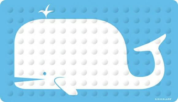 Bath Mat Whale - Porque lugar de baleia não é no Twitter!