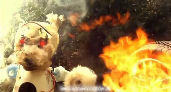 VIDEOFUN - Urso de pelúcia Exterminador do Futuro. Fujam para as montanhas!