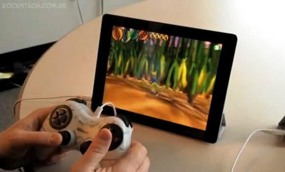 Turbine seu iPad ou iPhone com um controle de videogame de verdade! (vídeo)