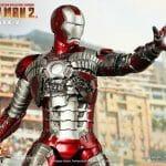 Novo action figure Iron Man Mark V da Hot Toys baseado no filme Iron Man 2 é perfeito!