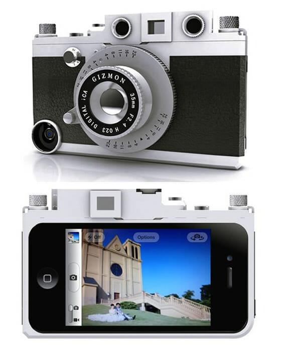 Case transforma iPhone em cu00e2mera fotogru00e1fica : ROCKu0026#39;N TECH