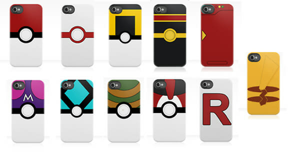 Cases Pokémon para iPhone