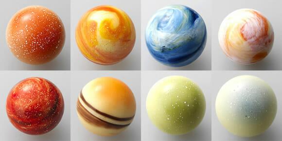 Chocolates Sistema Solar: O presente perfeito para nerds e geeks!