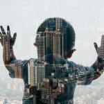 Silhuetas da cidade: Imagens perfeitas de pessoas e lugares