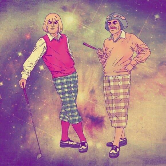 Personagens de desenhos animados da década de 80 aderem a moda hipster
