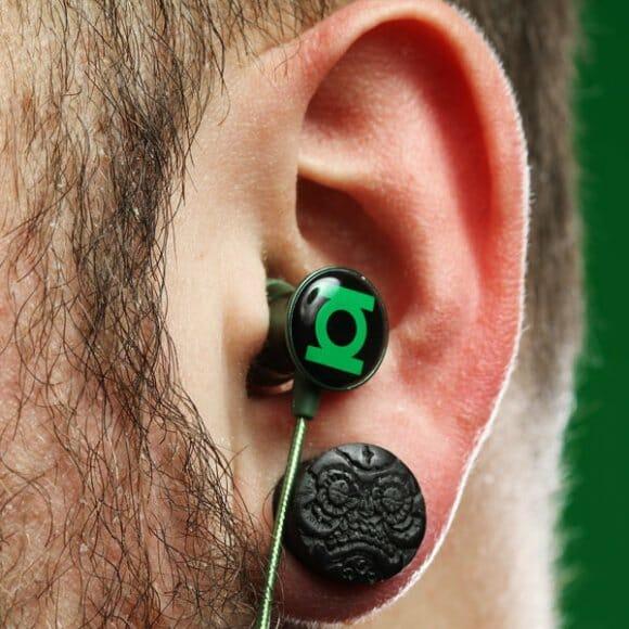 Super fones de ouvido de Super-Heróis