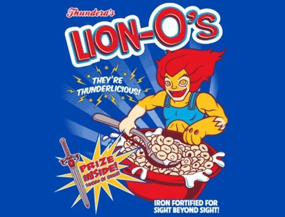FOTOFUN - Sucrilhos Lion-O's