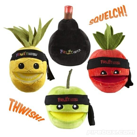 Frutas do game Fruit Ninja ganham versão de pelúcia