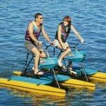 Pedale sobre as águas com a Hydrocycle!