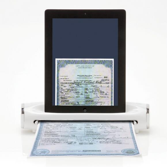 Com o iConvert você escaneia documentos diretamente em seu iPad (vídeo)