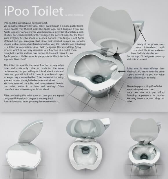 iPoo Toilet: A privada da Apple