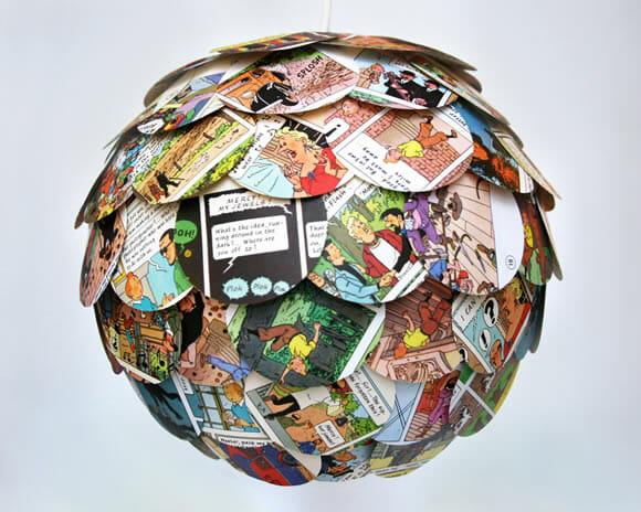 Luminária História em Quadrinhos pra deixar seu quarto ainda mais geek!