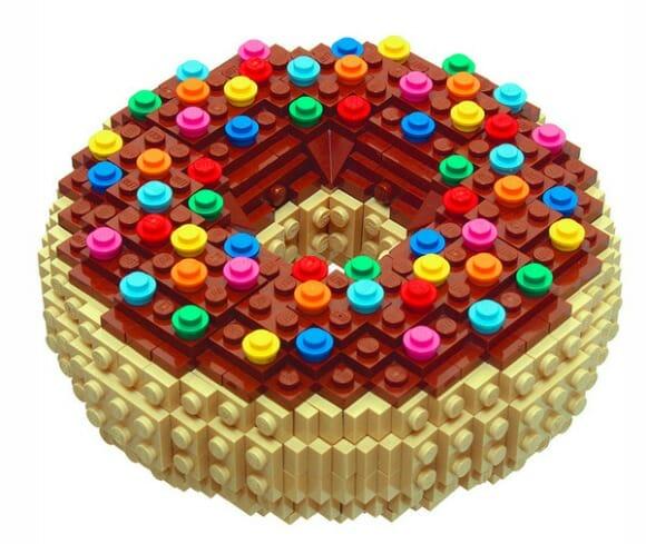 Criações de LEGO para dizer #EUQUERO