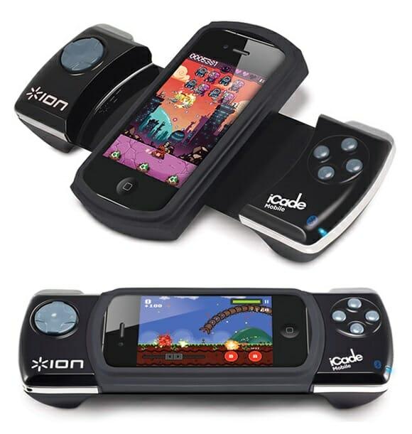 Nova família de acessórios ION para iPhones, iPads e iPods para jogar jogos à moda antiga