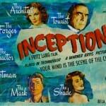 Posters de filmes atuais representados como filmes de antigamente