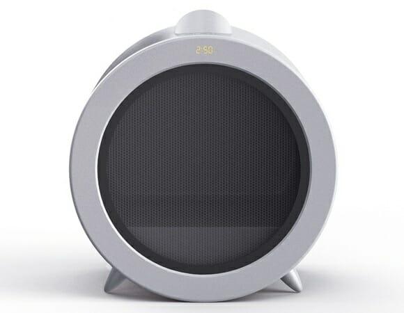 Microondas conceito projeta um vídeo dos alimentos para oferecer mais segurança