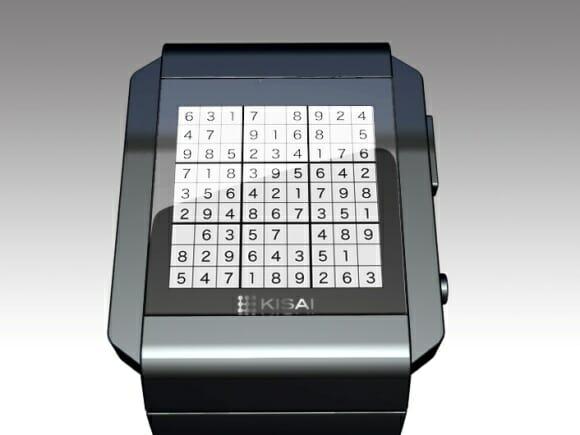 Relógio de pulso Sudoku: Pra quem gosta de usar a cabeça até na hora de ler as horas