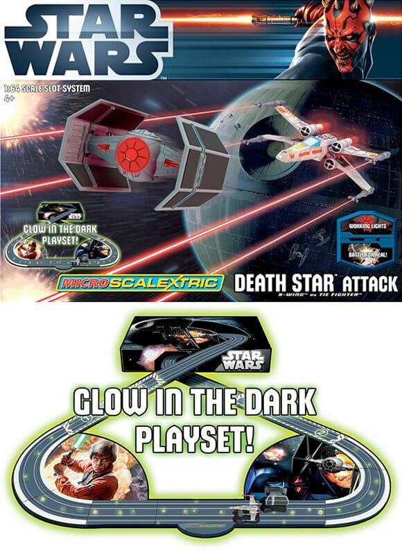 """#SonhoGeek: Naves do filme Star Wars ganham versão em forma de """"autorama""""!"""