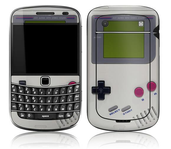 Deixe seu BlackBerry com cara de GameBoy com um skin retrô