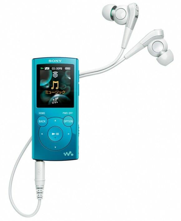 Nova linha de MP3 Players Sony Walkman NW-E060 já saem de fábrica com Speakers